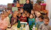 Новогодние поделки младшая группа